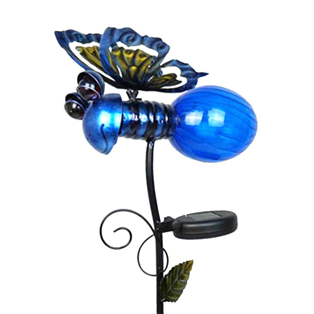 Solar Powered Led Lightning Bug Gardenyard Stake Light